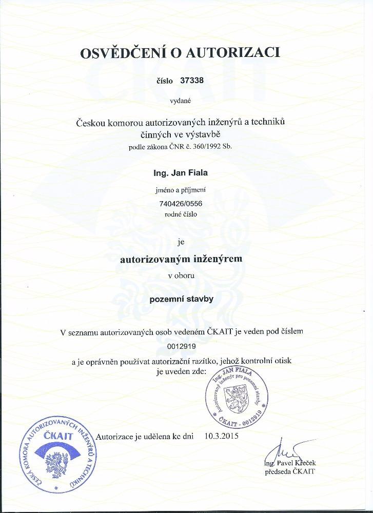 Autorizace ČKAIT